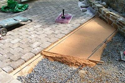 Тротуарная плитка, особенности укладки