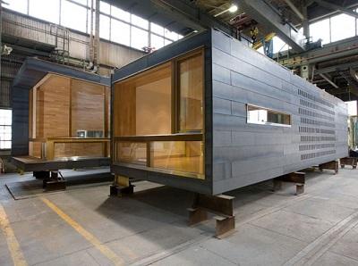 Модульный дом: технология строительства